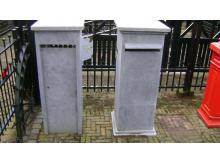 Tuinaccessoires brievenbus van beton